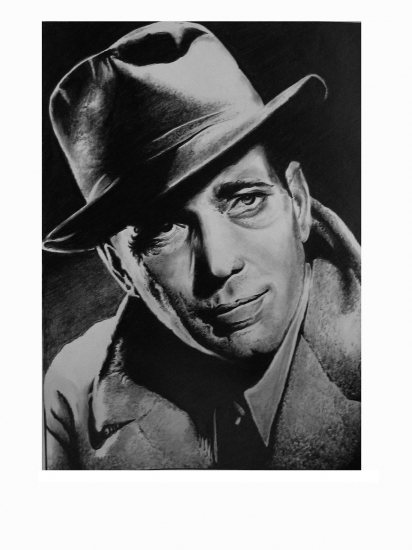 Humphrey Bogart by Lampert